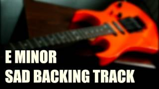 E Minor Sad Ballad Backing Track (Clean, 7 String)