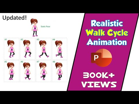 Download How To Make Realistic Animated Walk Cycle In Powerpoint