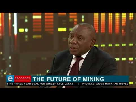 Ramaphosa exclusive in 3 minutes