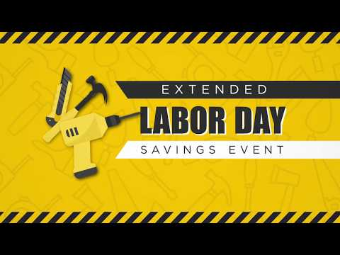 Labor Day Savings Event - Extended