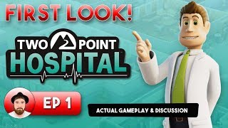 Two Point Hospital - Gameplay & Features - FIRST LOOK!