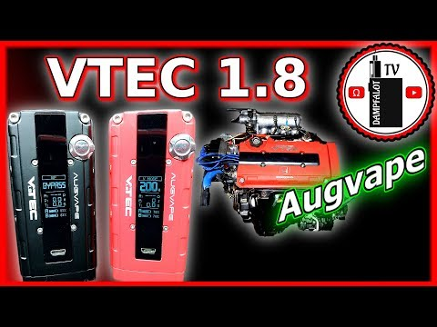 YouTube Video zu Augvape VTec 1.8 Akkuträger 200 Watt