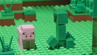 Pet Brick - LEGO Minecraft - Stop motion video