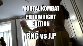 BNG vs J.P - THE ONES - Mortal Kombat / Pillow Fight Edition / AQUA