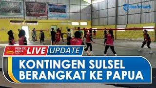 PON PAPUA: Kontingen Sulawesi Selatan Berangkat secara Bertahap ke PON XX Papua