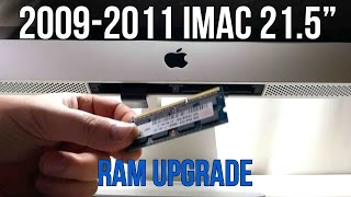 "iMac RAM Memory Installation 2009 2010 2011 21 5"" Apple Dollars #13"