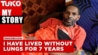 I have lived without lungs for 7 years because of smoking | Tuko TV