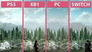Skyrim – Switch vs. PS3 vs. Xbox One vs. PC Graphics Comparison