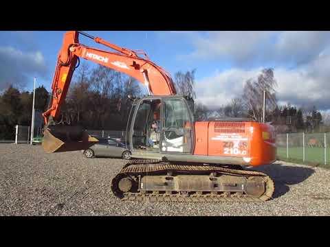 Video: Hitachi ZX210LC-3 gravemaskine  1