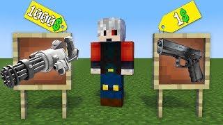 1$ SİLAH VS 1000$ SİLAH - Minecraft