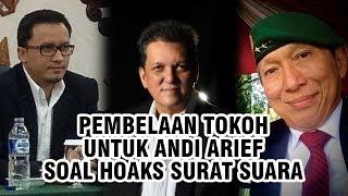 Pembelaan Sejumlah Tokoh untuk Andi Arief yang akan Dipanggil Bareskrim soal Hoaks Surat Suara