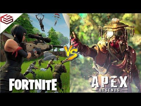 APEX LEGENDS vs FORTNITE | Quick Comparison