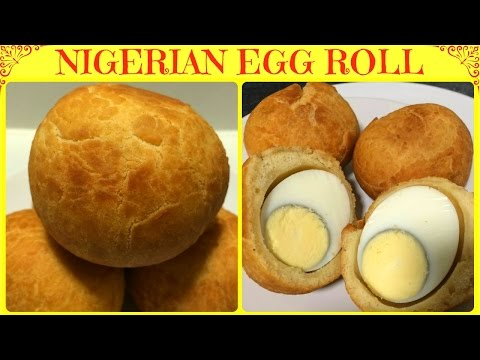 How to Make Nigerian Egg Roll | Nigerian Egg Roll Recipe