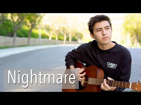 Nightmare by Halsey | acoustic cover by Kyson Facer