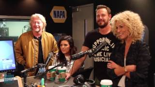 Little Big Town Stops By The Show After A Big Night