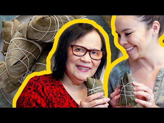Pronunție video a zongzi în Engleză