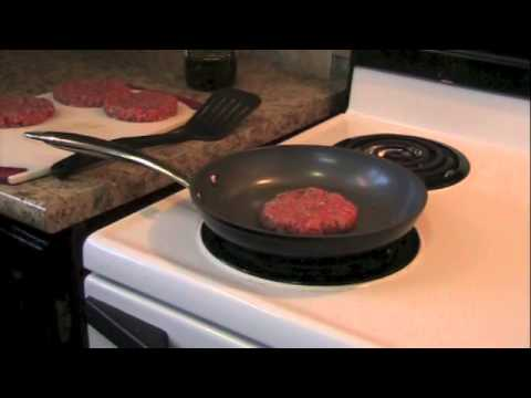 Pan Fried Burger Demo