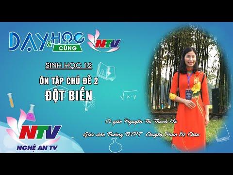 MÔN SINH HỌC 12- ÔN TẬP: CHỦ ĐỀ 2 - ĐỘT BIẾN | 17H NGÀY 06/4/2020 (NTV)