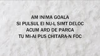 Gabi Bagu   Si Ma Doare (versuri)