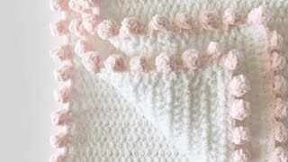 Crochet Blanket Dot Border