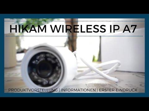 Überwachungskamera HiKam Wireless IP HD A7 | Produktvorstellung | Informationen | Erster Eindruck