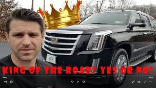 Why the New Escalade ESV is THE KING OF THE ROAD!! - Flying Wheels