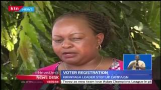 Kirinyaga leaders join the voter registration campaign