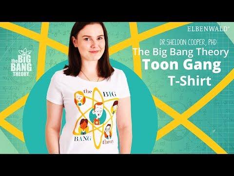 The Big Bang Theory: Toon Gang Damen-Shirt
