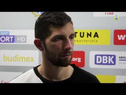 Jonatan Straus po meczu Stomilu Olsztyn - Radomiak Radom 0:1