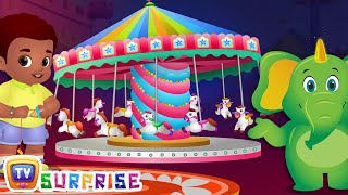 Surprise Eggs Nursery Rhymes Toys | Theme Park Rides Song | Cutians | ChuChu TV Egg Surprise