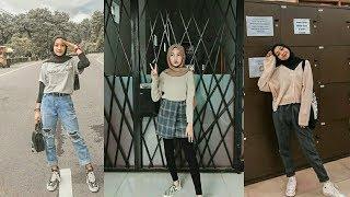 OOTD Hijab Remaja Kekinian || Style 2020!