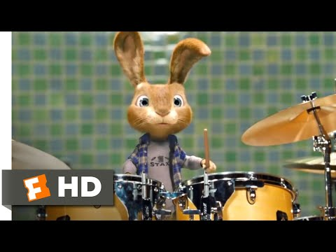 Hop (2011) - Playing the Drums Scene (4/10)   Movieclips