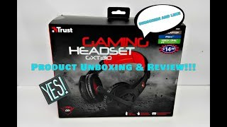 Trust Gaming Headset GXT310 Review