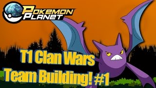 Pokemon Planet - Building a Clan Wars Team! #1