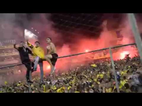 """Sur Oscura - Ecuador (Noche Amarilla 2016)"" Barra: Sur Oscura • Club: Barcelona Sporting Club"