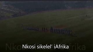Nkosi Sikelel' iAfrika - South African Anthem with Lyrics