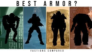 Which Sci-Fi Faction has the BEST POWER ARMOR? | Halo, Star Wars, WH40k, Fallout