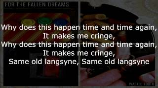 For The Fallen Dreams - Resolvent Feelings (lyrics)