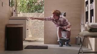 Унитаз напольный Villeroy&Bosh Hommage, вертикальный выпуск видео