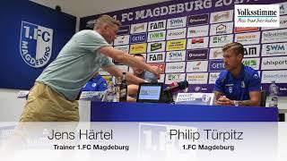 PK vor dem Spiel gegen Münster