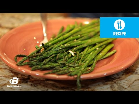 Video Garlic Roasted Asparagus | Healthy Recipes