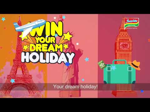 Draw your Dream Holiday Promo