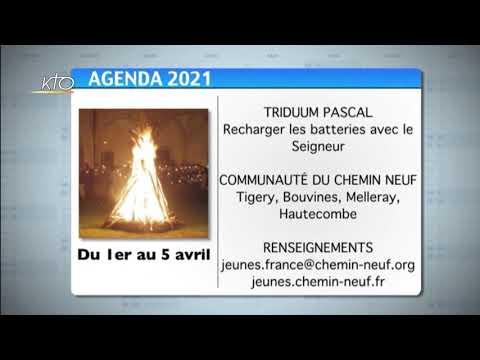 Agenda du 19 mars 2021