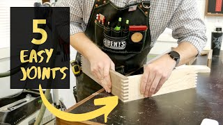 5 Woodworking Joints For Beginners
