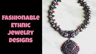 Fashionable Ethnic Jewelry Designs Part 07