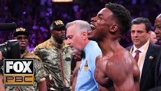 Errol Spence Jr. after split decision win over Shawn Porter: 'I want Manny Pacquiao' | PBC ON FOX