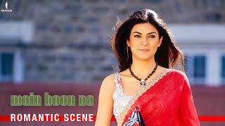 Miss Chandni Ki Ada   Main Hoon Na   Romantic Scene   Shah Rukh Khan, Sushmita Sen, Amrita Rao