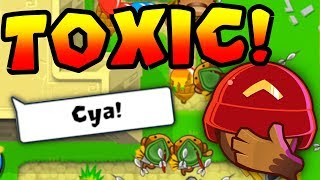 SUPER CLOSE Game Against TOXIC Player! (Bloons TD Battles)
