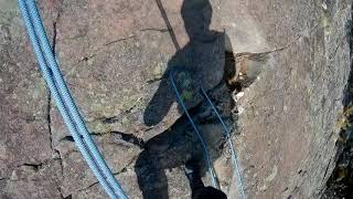 Abseiling With Alpine Up And Multi Chain EVO