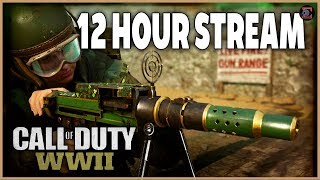 M-38 CHROME  CAMO Grind - 14 HOUR STREAM - Call of Duty  WW2 (GIVEAWAY in  Description) - Pt 1